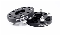 Torque Solution Forged Aluminum Wheel Spacer: Subaru 56mm Hub 5x114.3 - 20mm