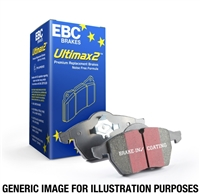EBC Brakes Ultimax OEM Replacement Rear Brake Pads Focus ST / RS